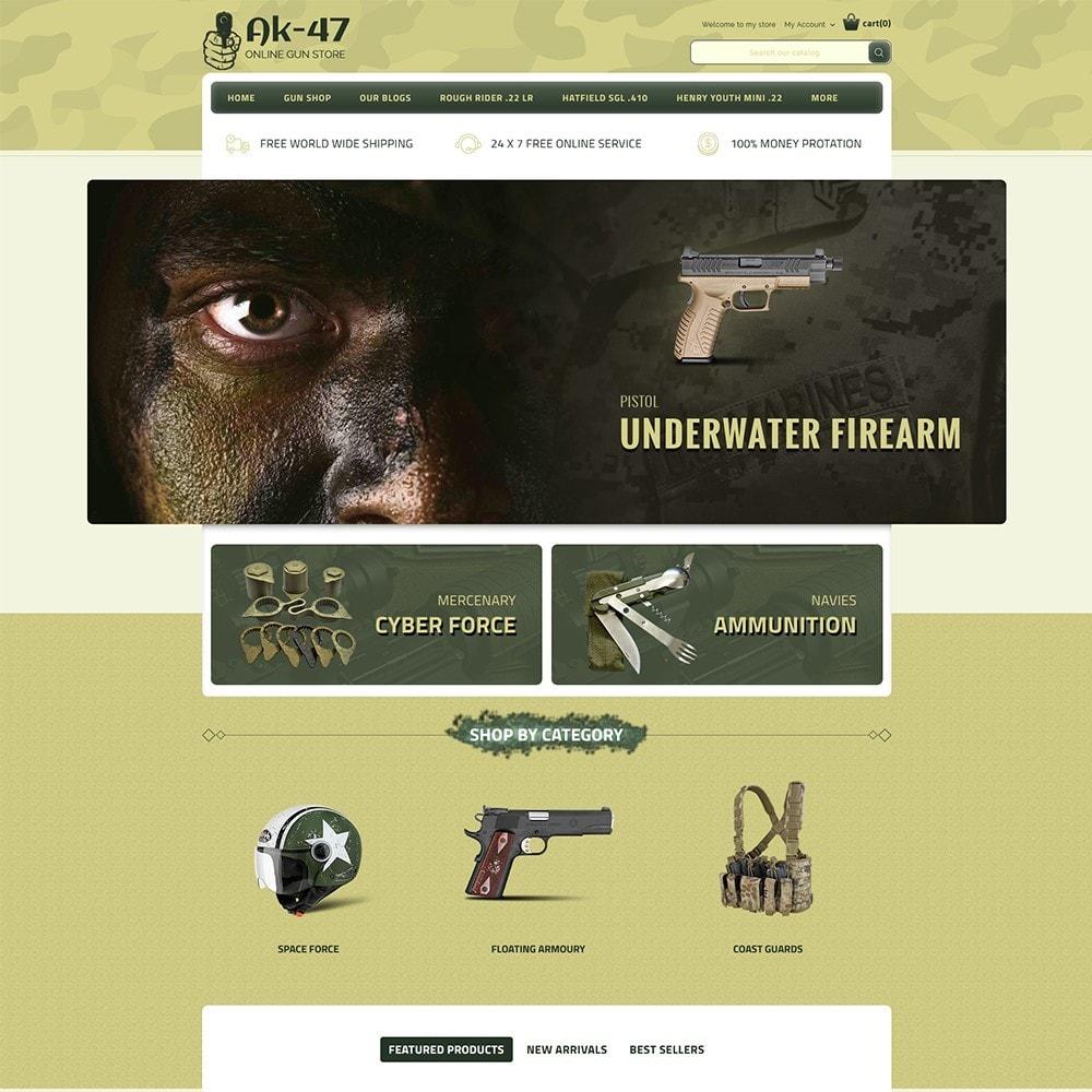 theme - Auto & Moto - AK47 Gun & Tools Store - 2