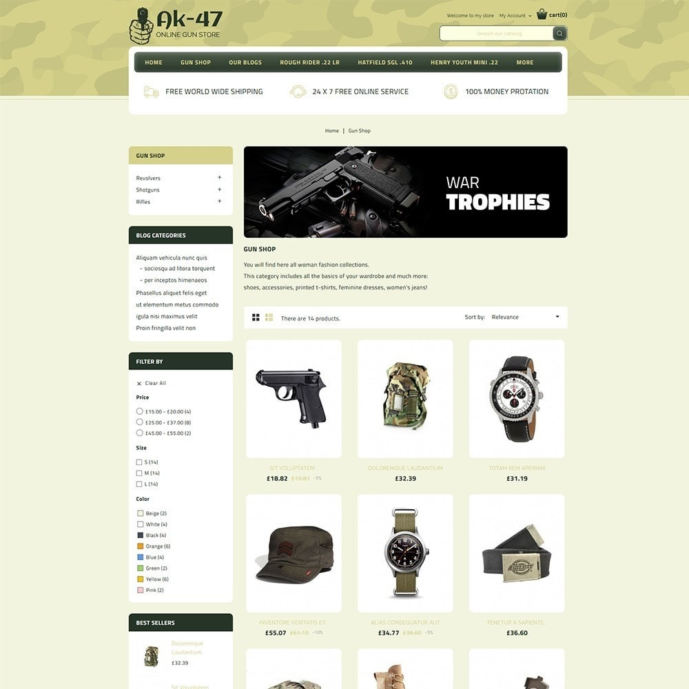 theme - Авто и Мото - AK47 Gun & Tools Store - 4