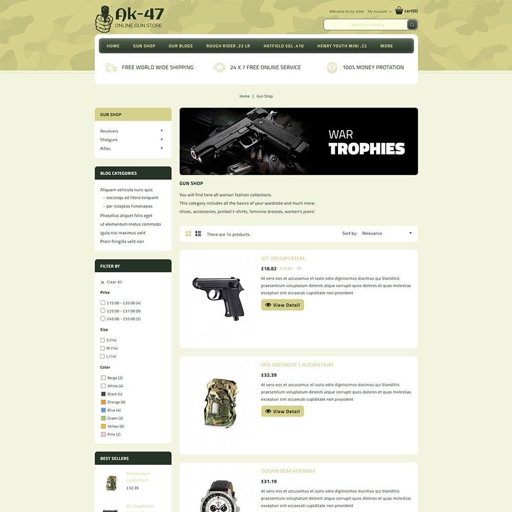 theme - Carros & Motos - AK47 Gun & Tools Store - 5