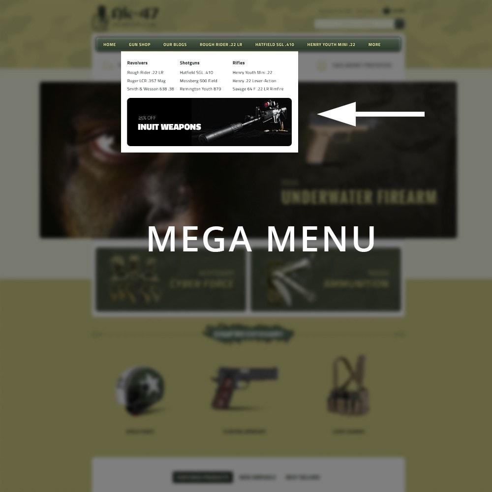 theme - Carros & Motos - AK47 Gun & Tools Store - 9