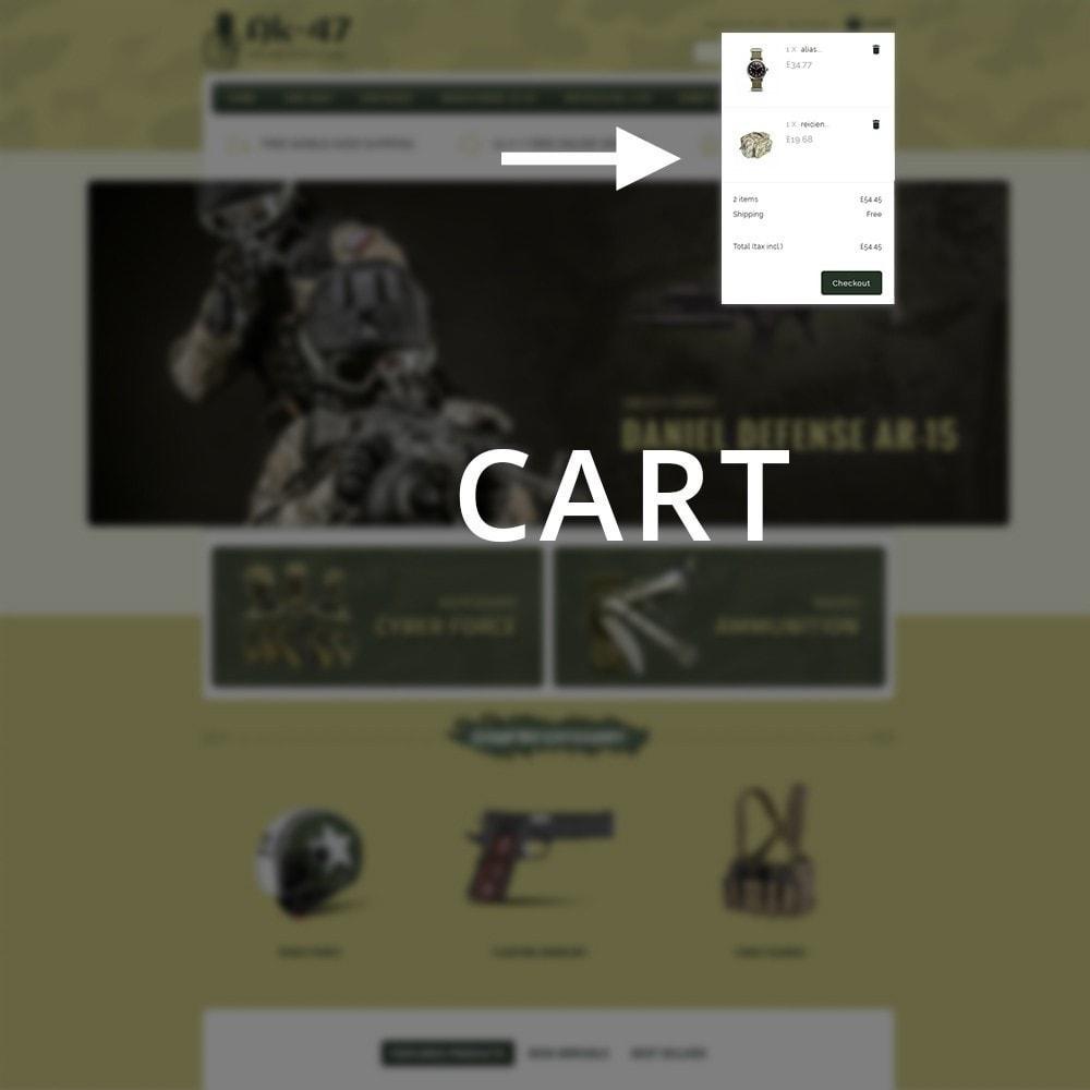 theme - Carros & Motos - AK47 Gun & Tools Store - 12