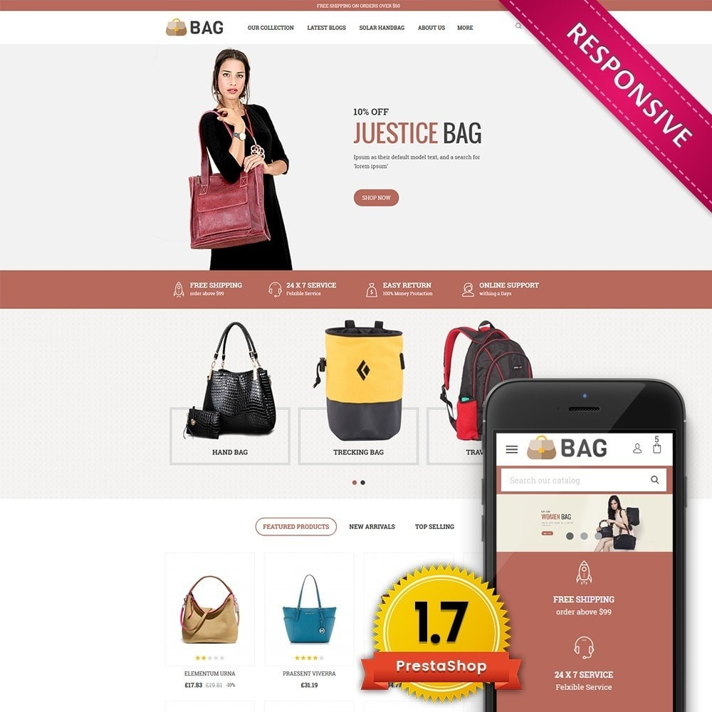 theme - Mode & Schuhe - Bag Leather Market - 1