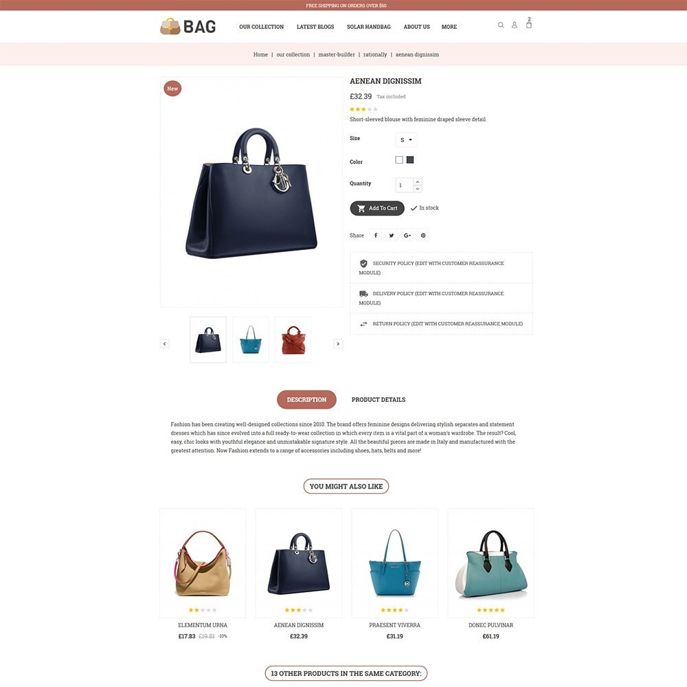 theme - Mode & Schuhe - Bag Leather Market - 6