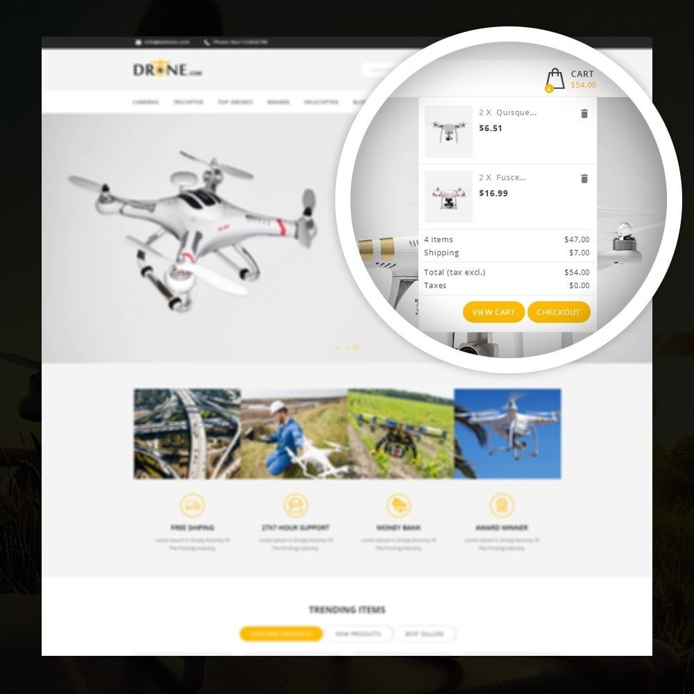 theme - Elektronika & High Tech - Drone - Online Store - 6