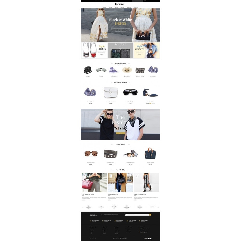 theme - Мода и обувь - Paradise - Multi Fashion Store - 2