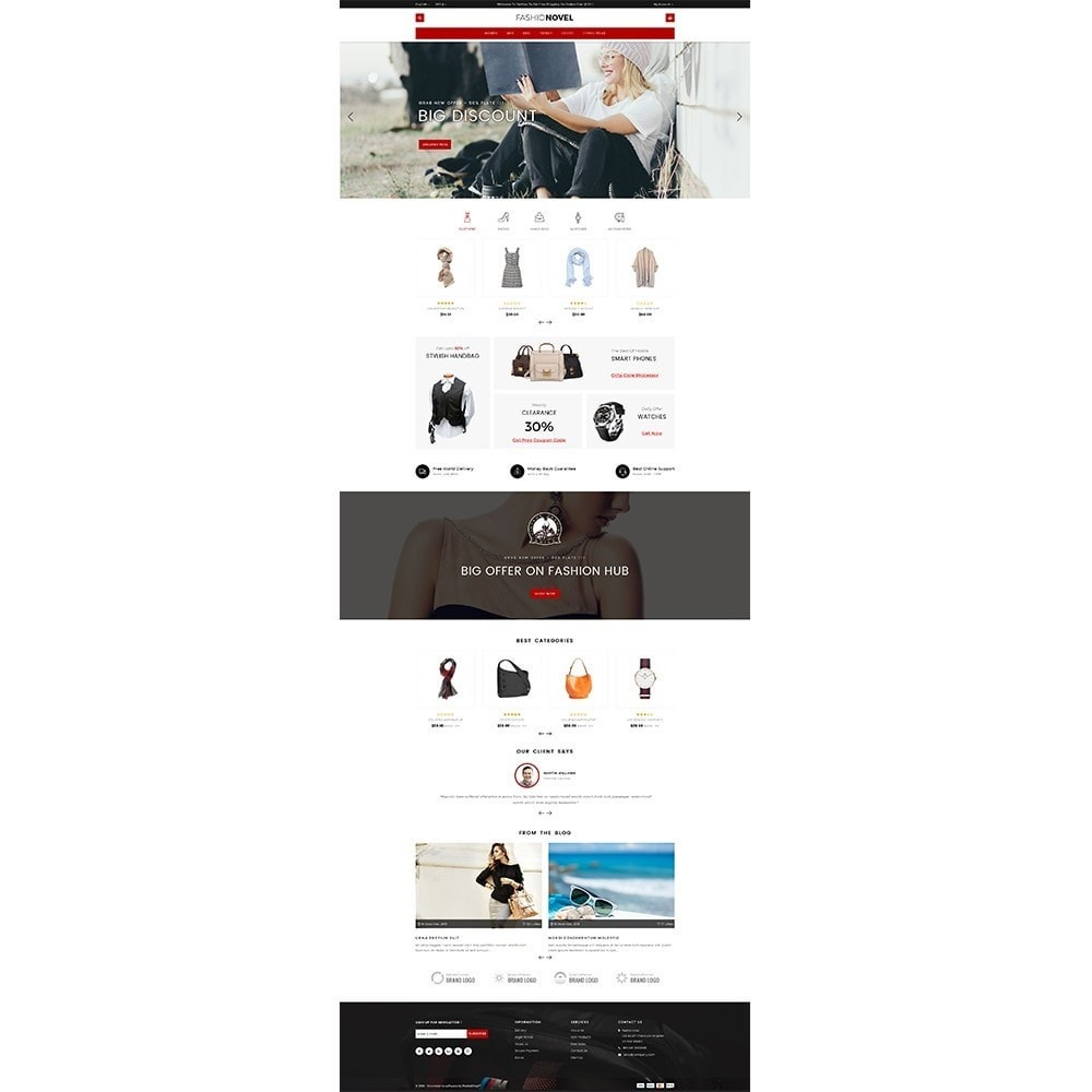 theme - Mode & Chaussures - Fashionovel Store - 2