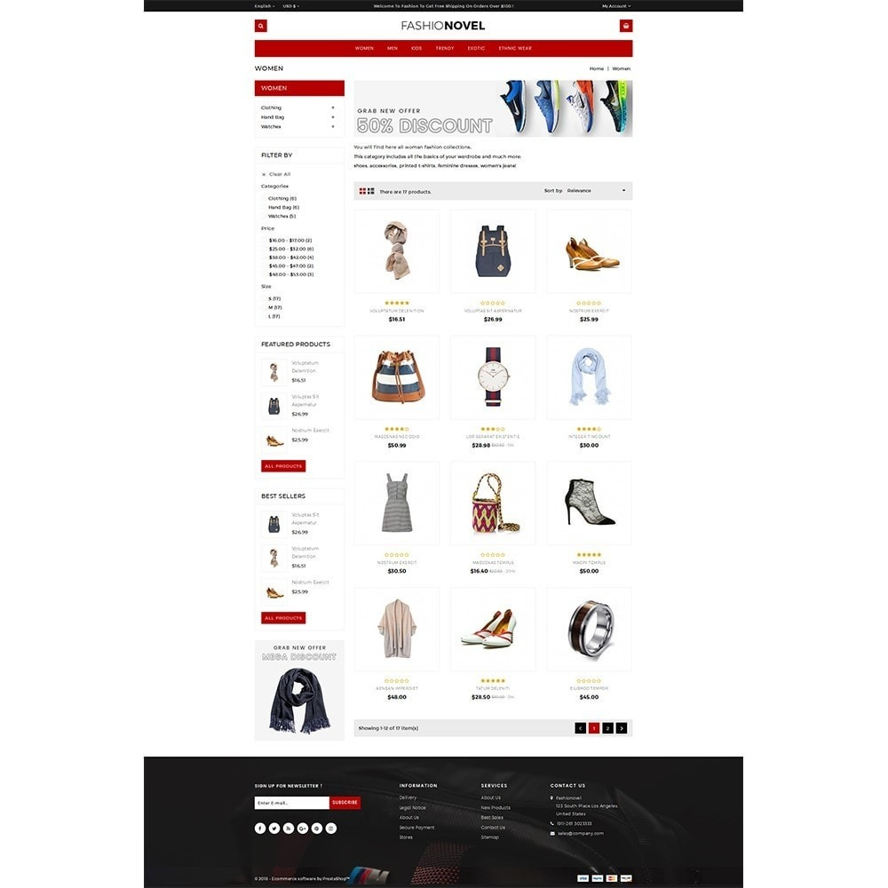 theme - Mode & Chaussures - Fashionovel Store - 3