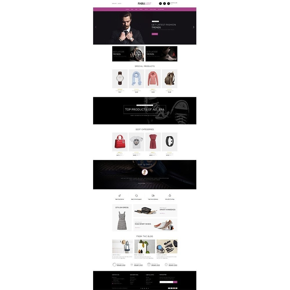theme - Moda y Calzado - Fabulest Store - 2