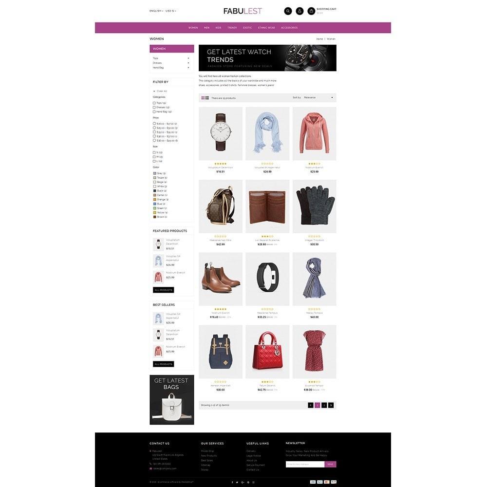 theme - Mode & Schuhe - Fabulest Store - 3