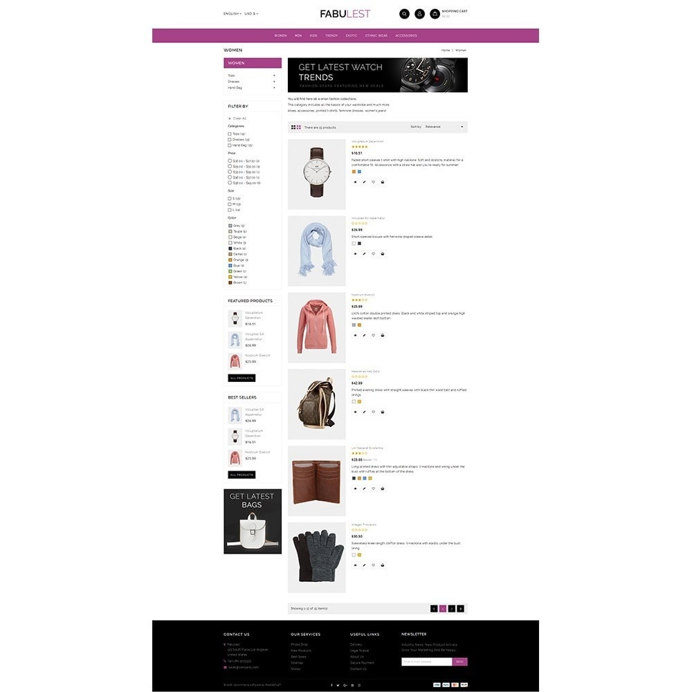 theme - Mode & Chaussures - Fabulest Store - 4