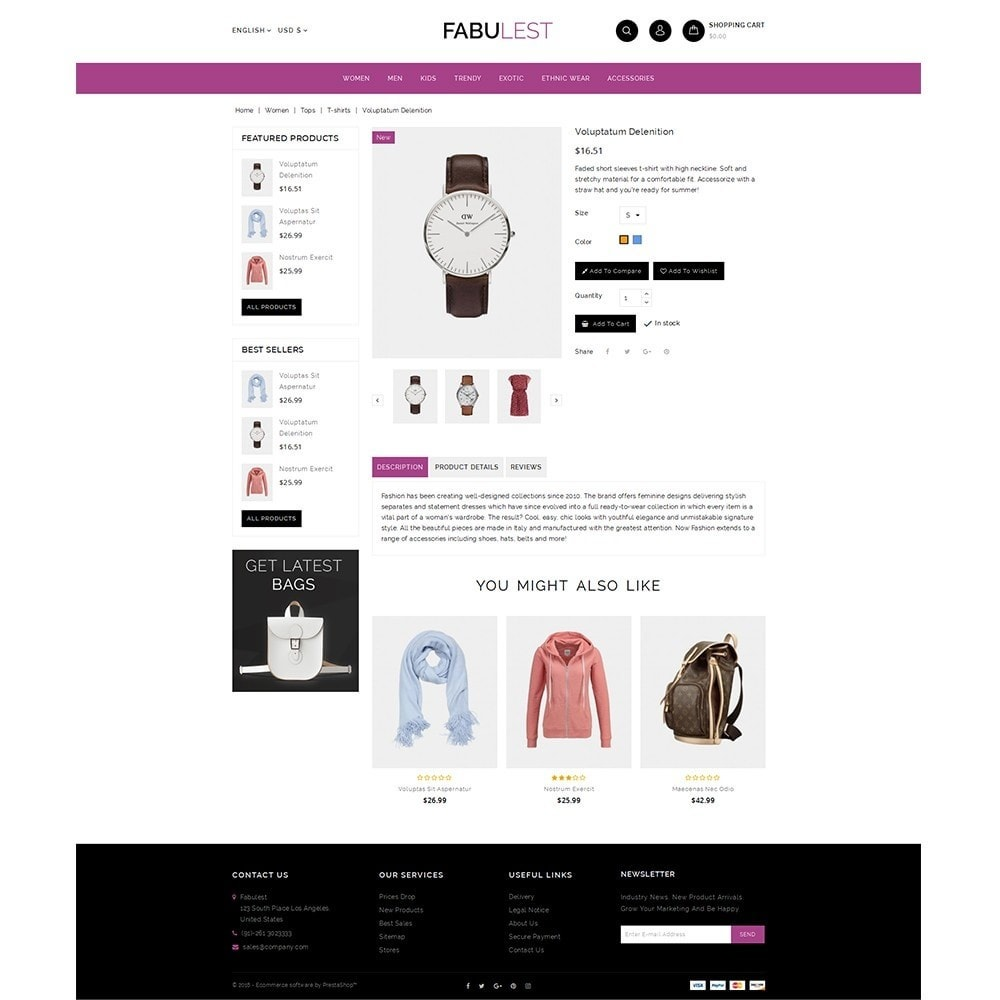 theme - Mode & Chaussures - Fabulest Store - 5