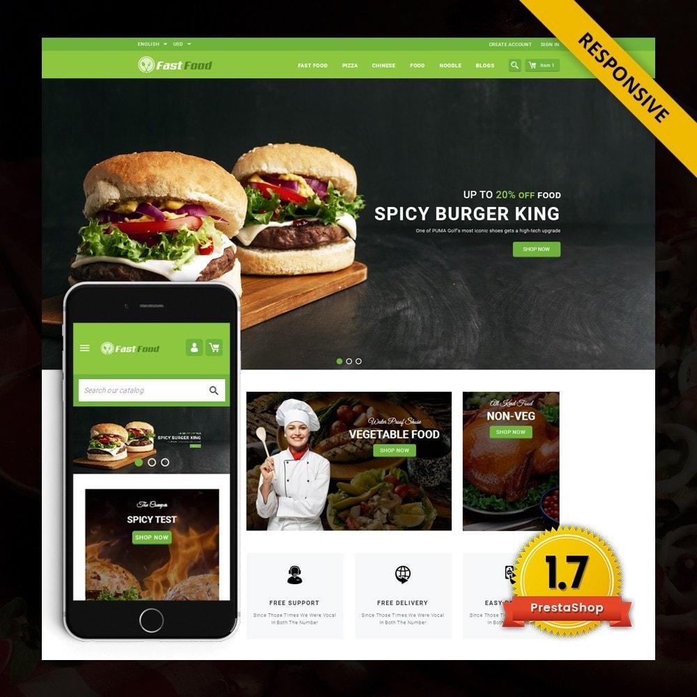 theme - Żywność & Restauracje - FastFood - Food Store - 1
