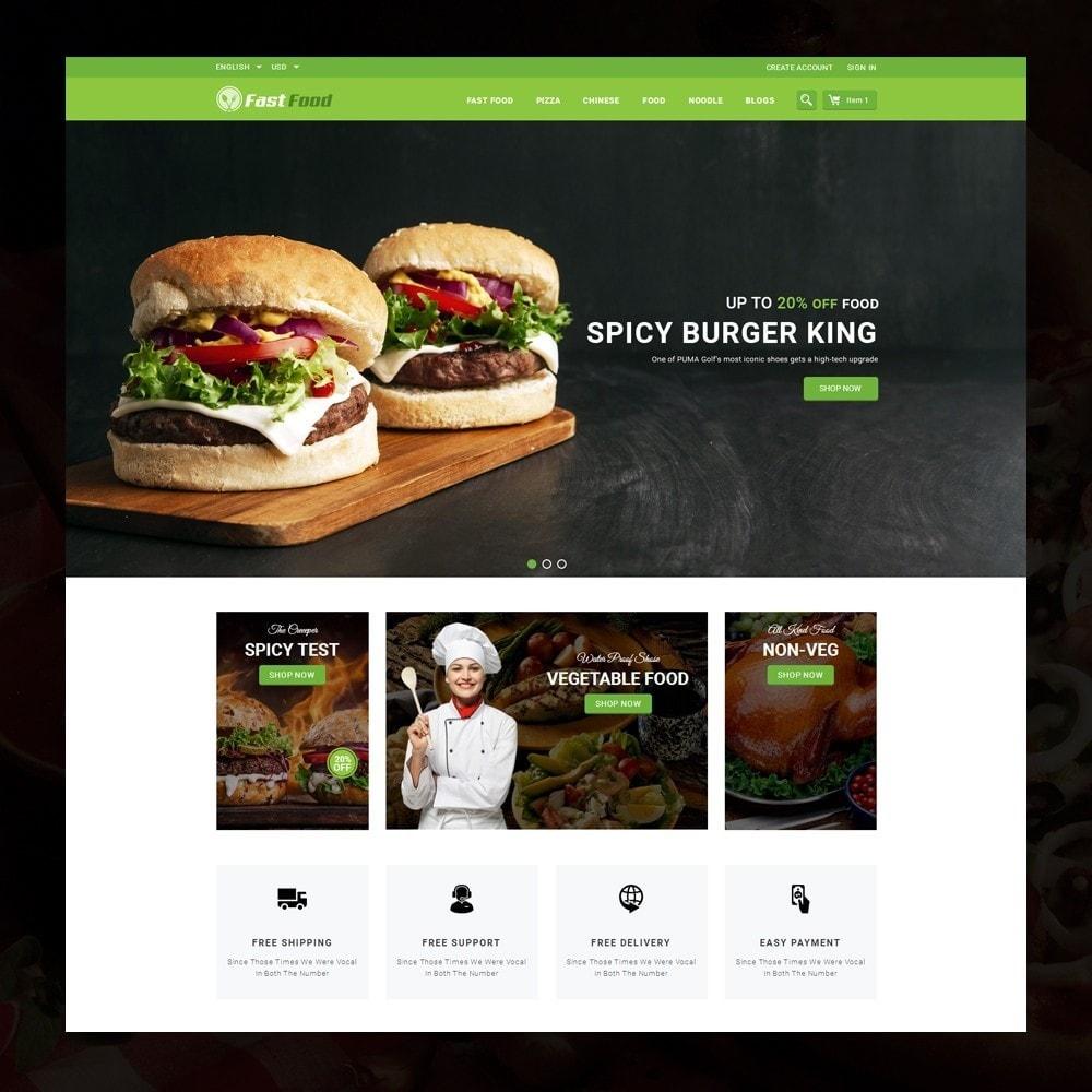 theme - Żywność & Restauracje - FastFood - Food Store - 2