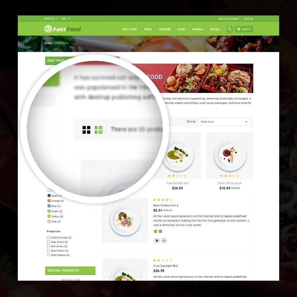 theme - Alimentation & Restauration - FastFood - Food Store - 3