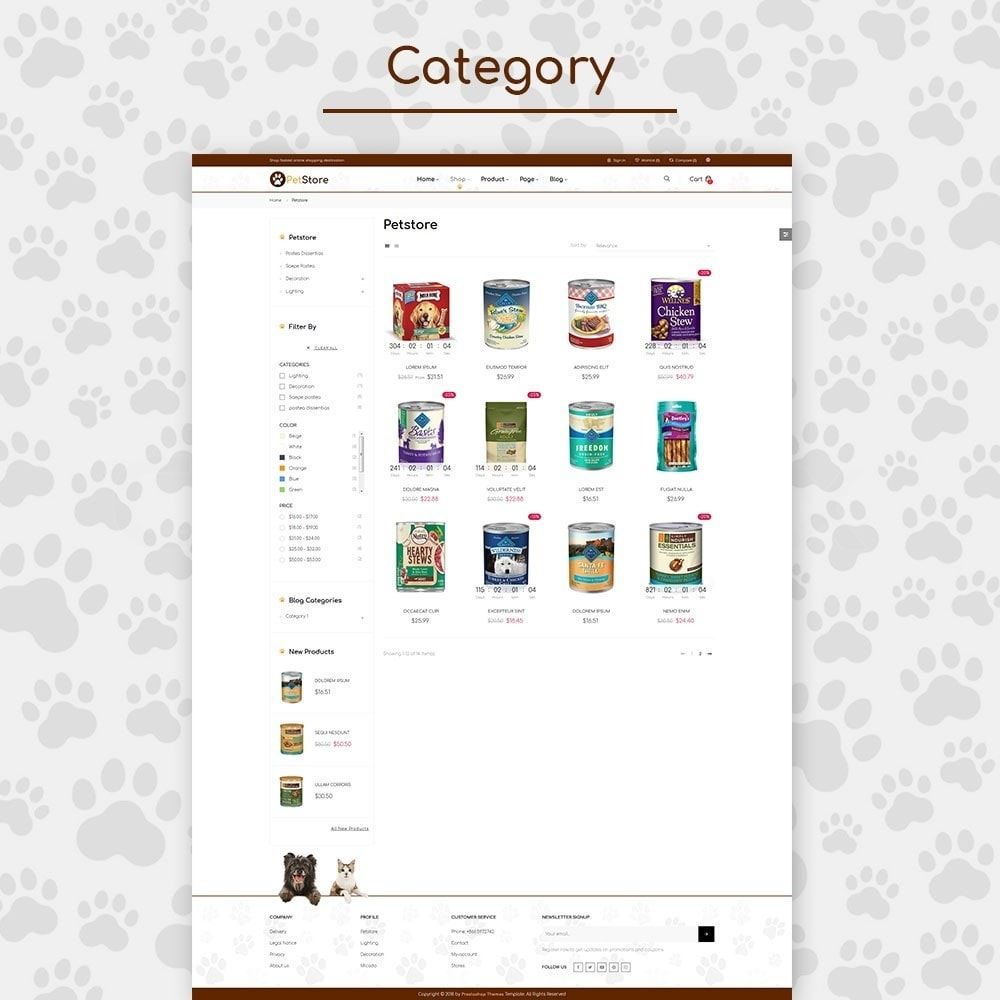 theme - Animaux - Pet Store - 2