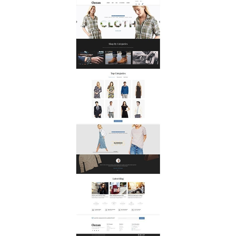 theme - Moda & Calzature - Ocean Fashion Store - 2