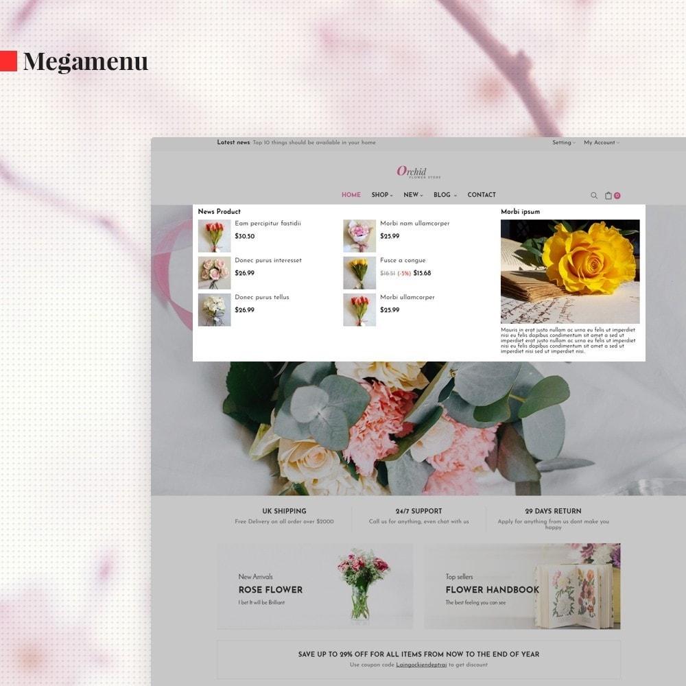 theme - Cadeaux, Fleurs et Fêtes - Leo Orchid - 4