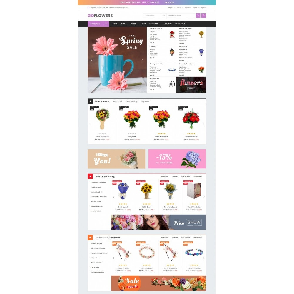 theme - Regali, Fiori & Feste - Gifts, Flowers & Celebrations - Gomarket - 3