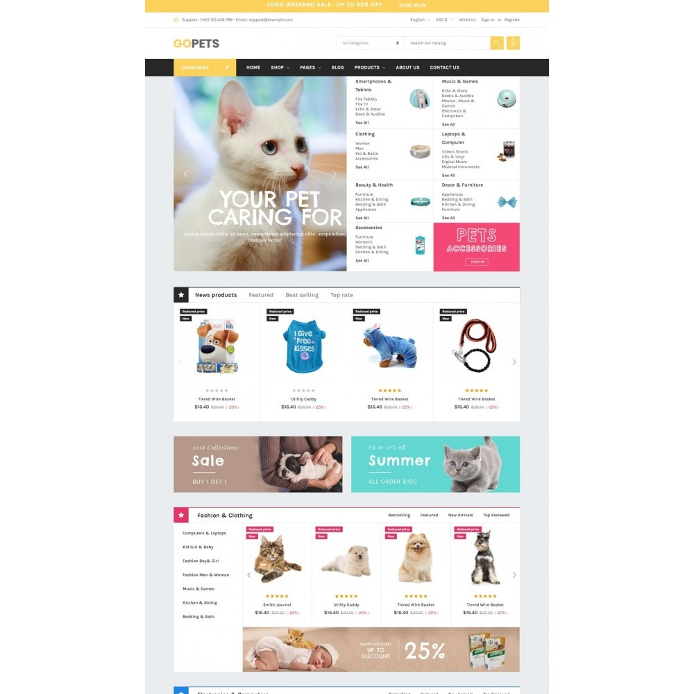 theme - Animais - Animals & Pets - Gomarket - 1