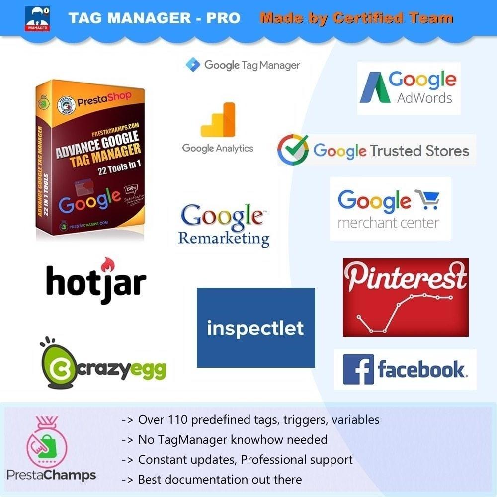 module - Informes y Estadísticas - Google Tag Manager avanzado - PRO - 10