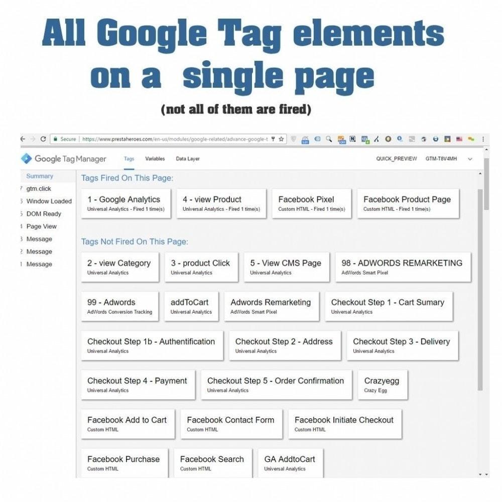 module - Analysen & Statistiken - Advanced Google Tag Manager - PRO - 14
