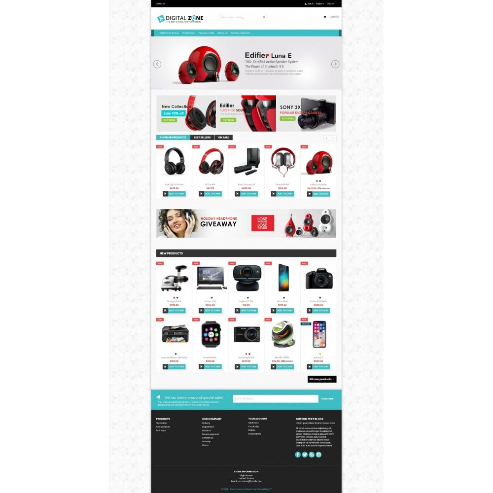 theme - Elektronik & High Tech - Digitalzone Multi-purpose HTML5 - 8