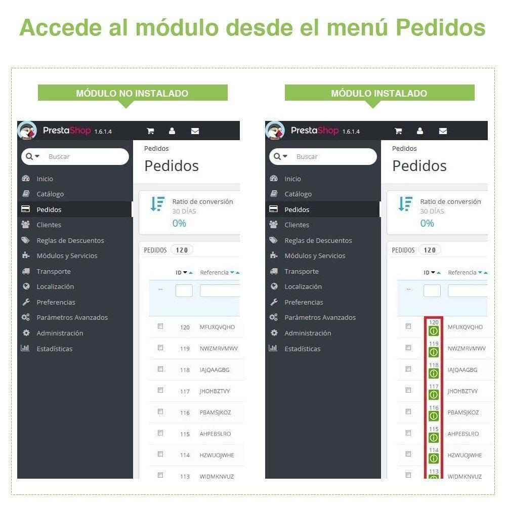 module - Gestión de Pedidos - Acceso Rápido a los Detalles de Pedido - Vista Rápida - 7