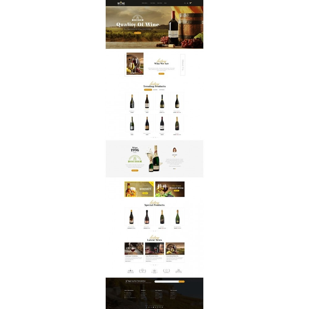 theme - Drink & Tobacco - Wine Yard - 2