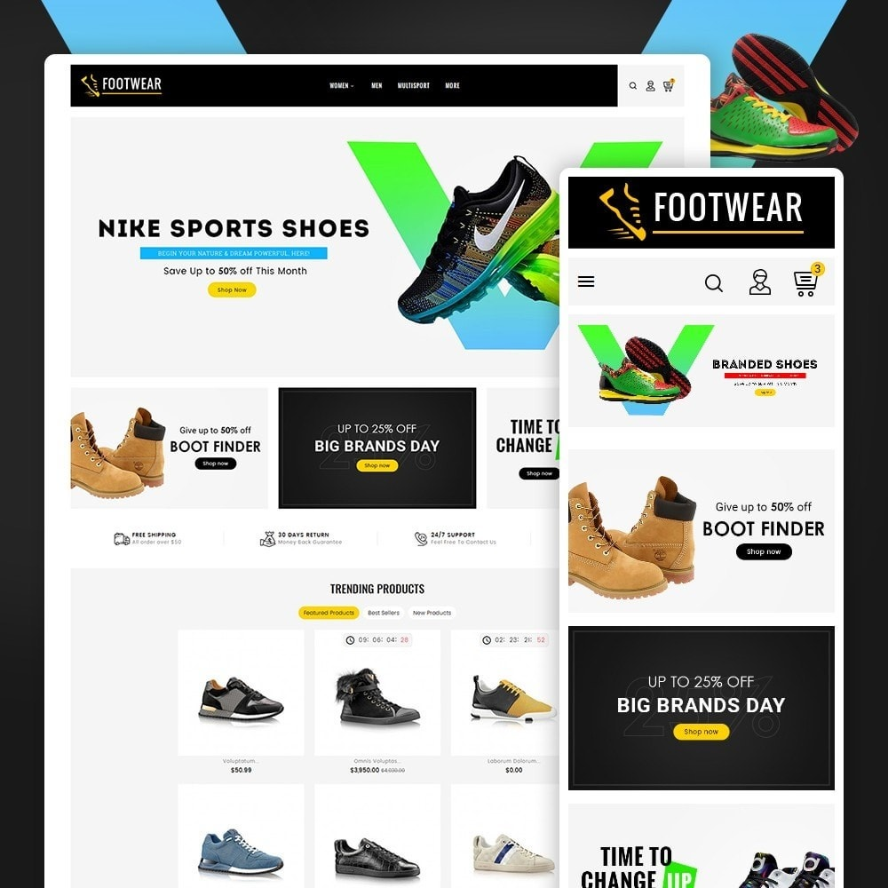 theme - Sports, Activities & Travel - Sports & Footwear - 1