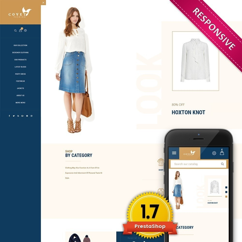 theme - Mode & Chaussures - Covet Fashion Store - 1