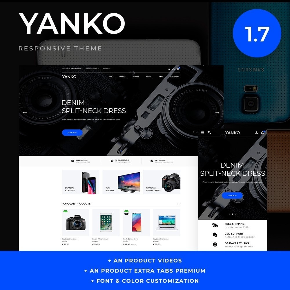 theme - Elettronica & High Tech - Yanko - High-tech Shop - 1