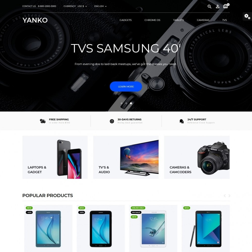theme - Electronics & Computers - Yanko - High-tech Shop - 2