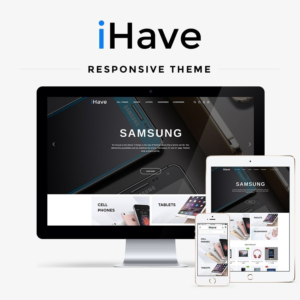 theme - Electronics & Computers - iHave - High-tech Shop - 1