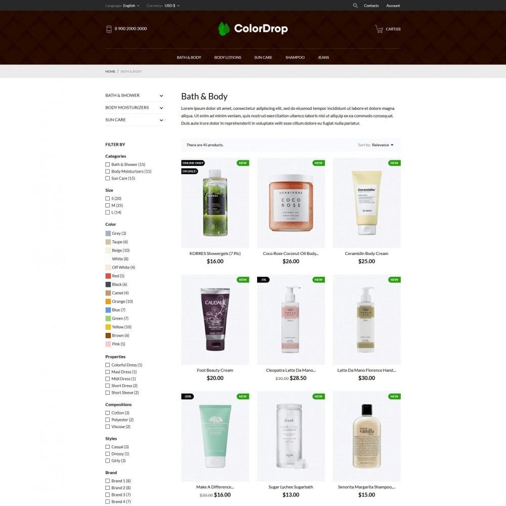 theme - Gesundheit & Schönheit - ColorDrop Cosmetics - 5