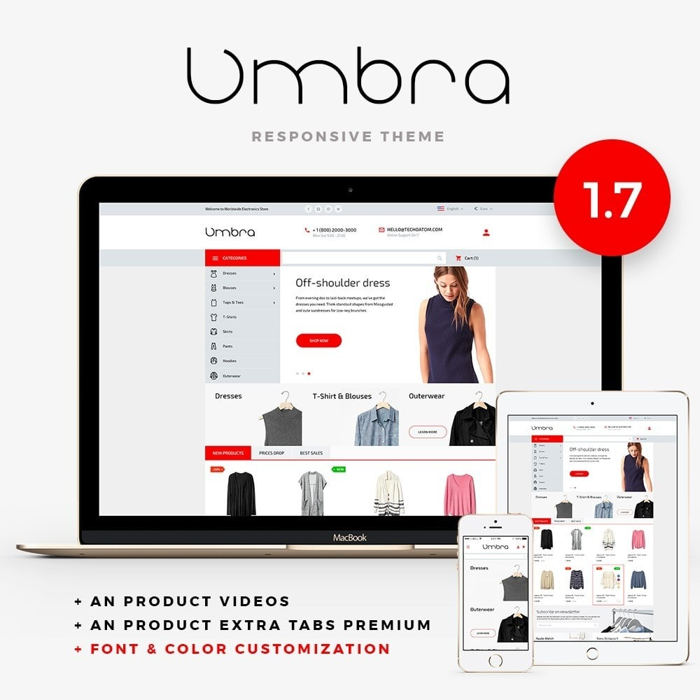theme - Moda & Calzature - Umbra Fashion Store - 1
