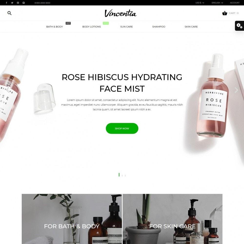 theme - Zdrowie & Uroda - Vincentia Cosmetics - 2