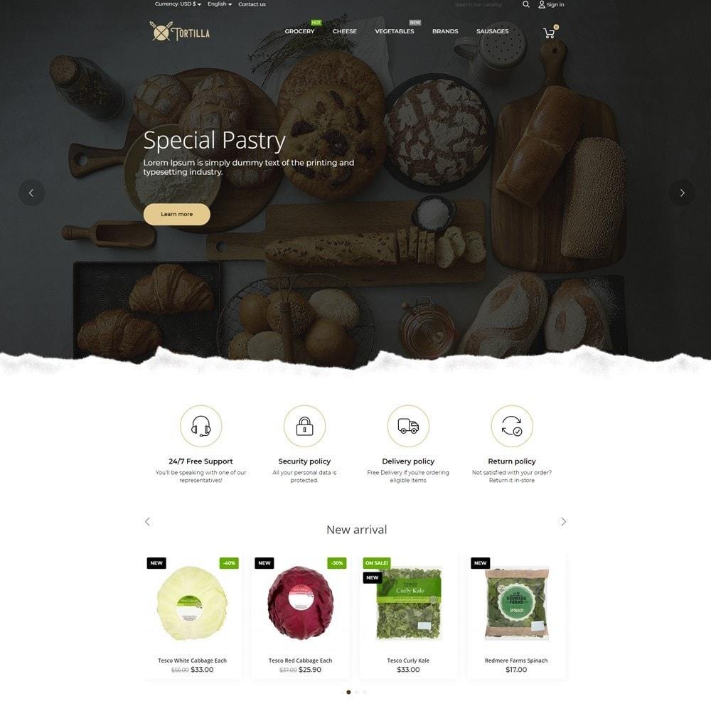 theme - Продовольствие и рестораны - Tortilla - 2