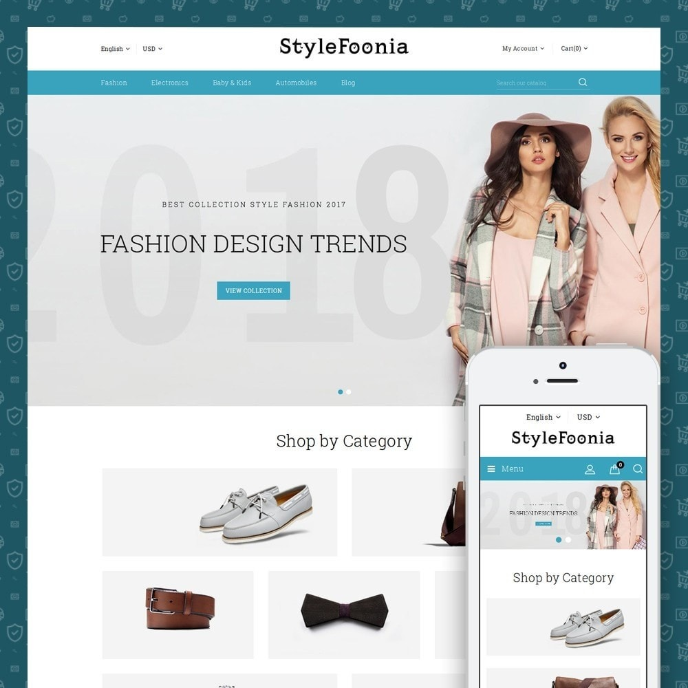 theme - Fashion & Shoes - Style Foonia - Fashion Store - 1