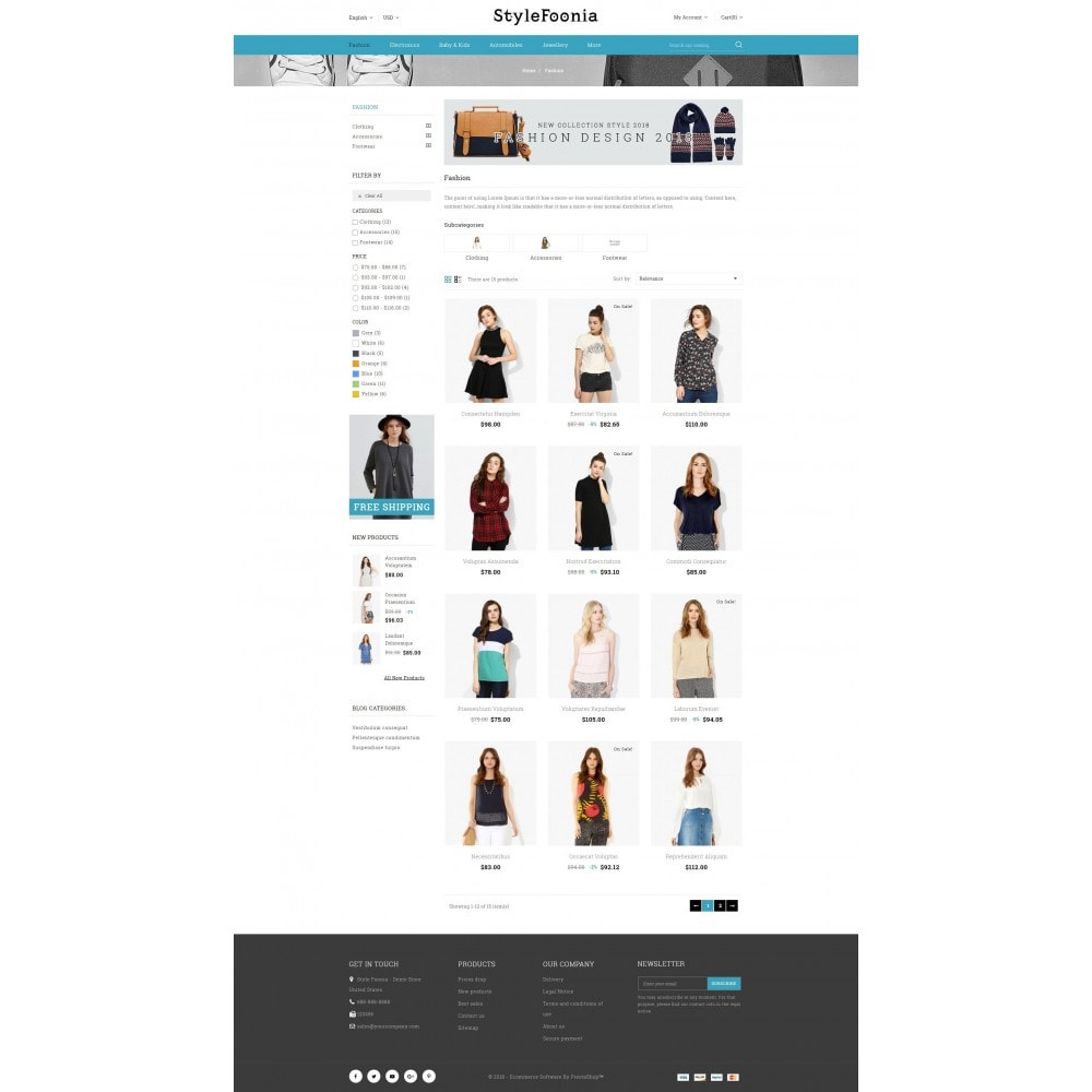 theme - Fashion & Shoes - Style Foonia - Fashion Store - 3