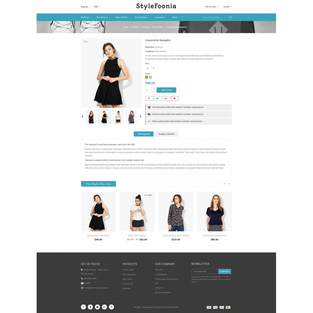 theme - Fashion & Shoes - Style Foonia - Fashion Store - 5