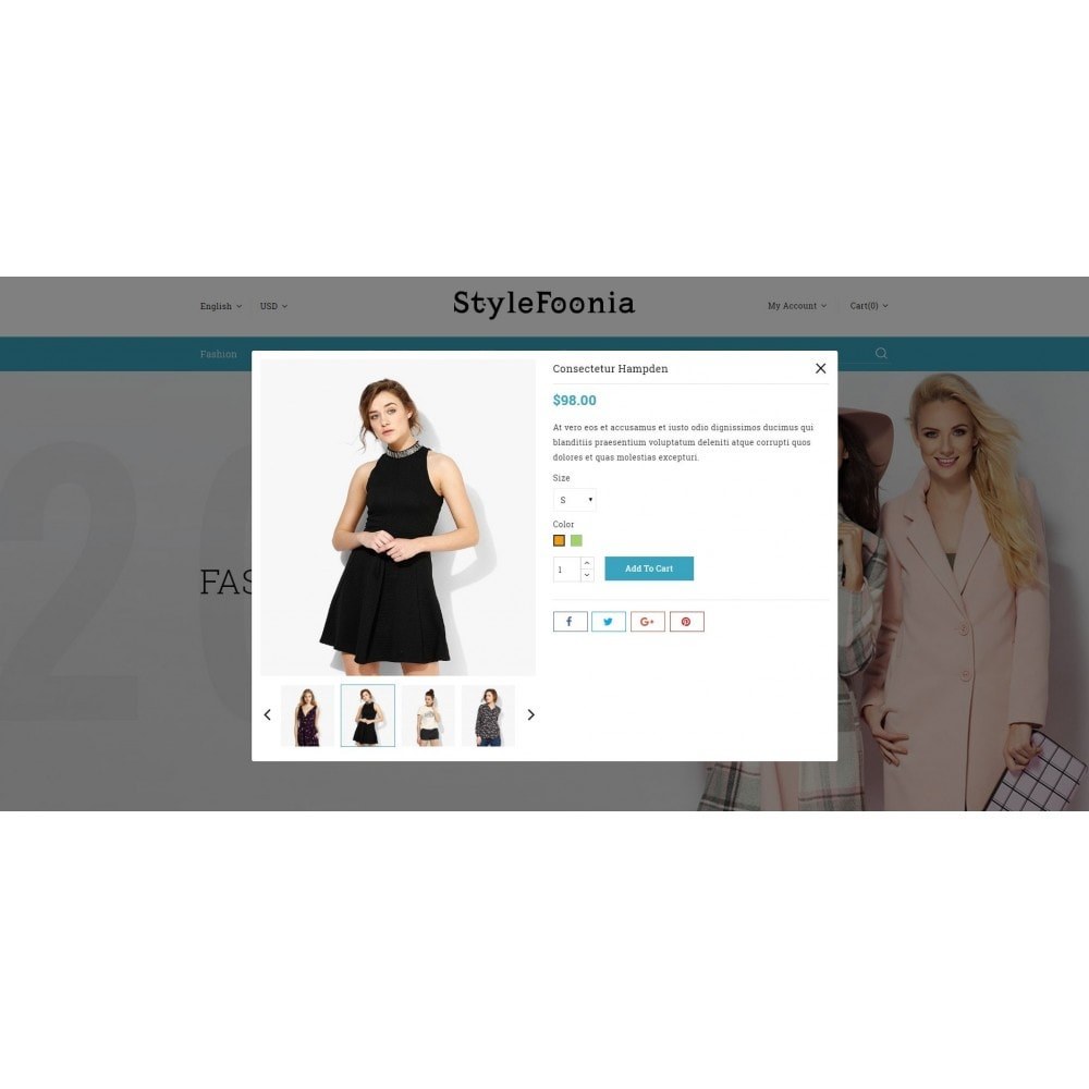 theme - Fashion & Shoes - Style Foonia - Fashion Store - 7