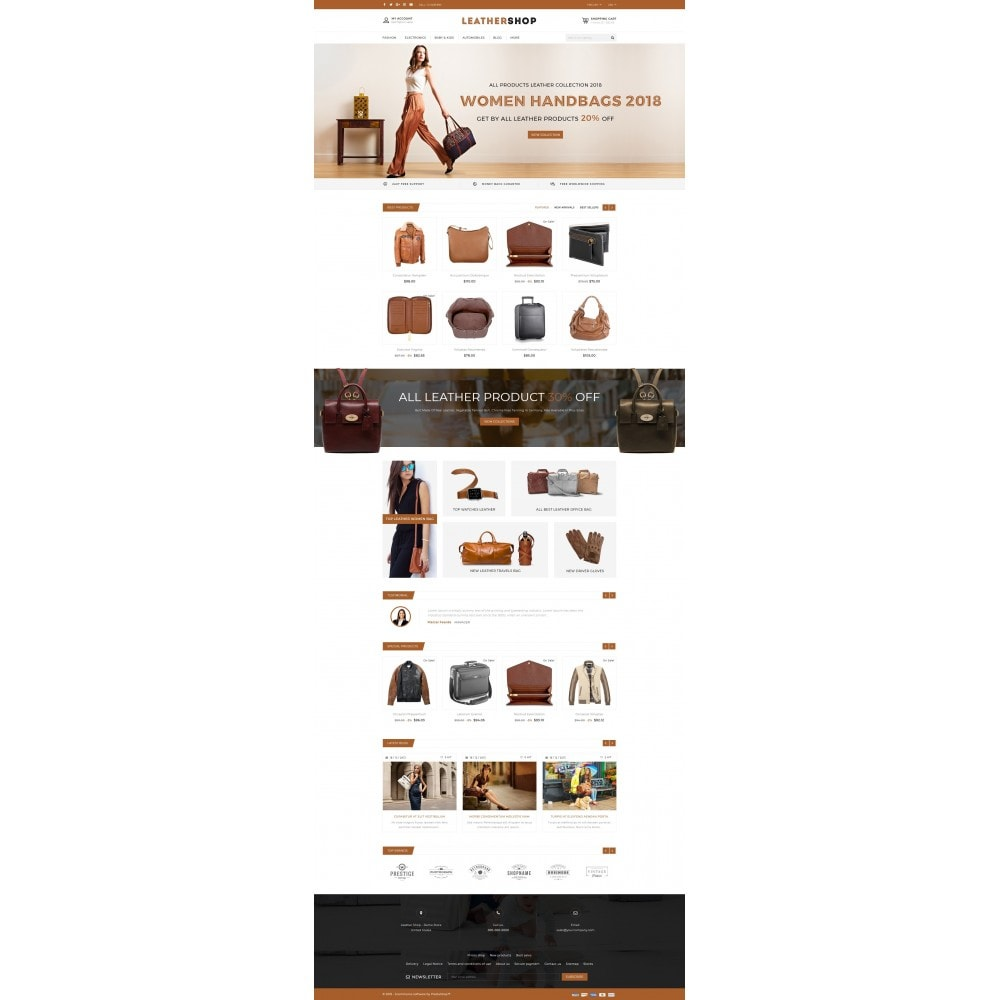 theme - Mode & Schuhe - Leather Shop - 2