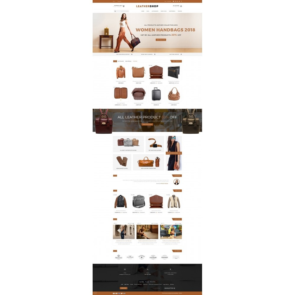theme - Moda & Calzature - Leather Shop - 10