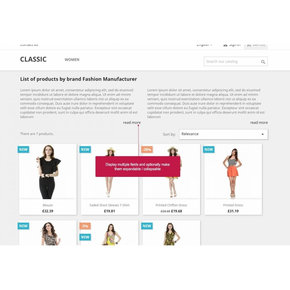 module - Marcas y Fabricantes - Brand / Manufacturer Fields SEO - 2