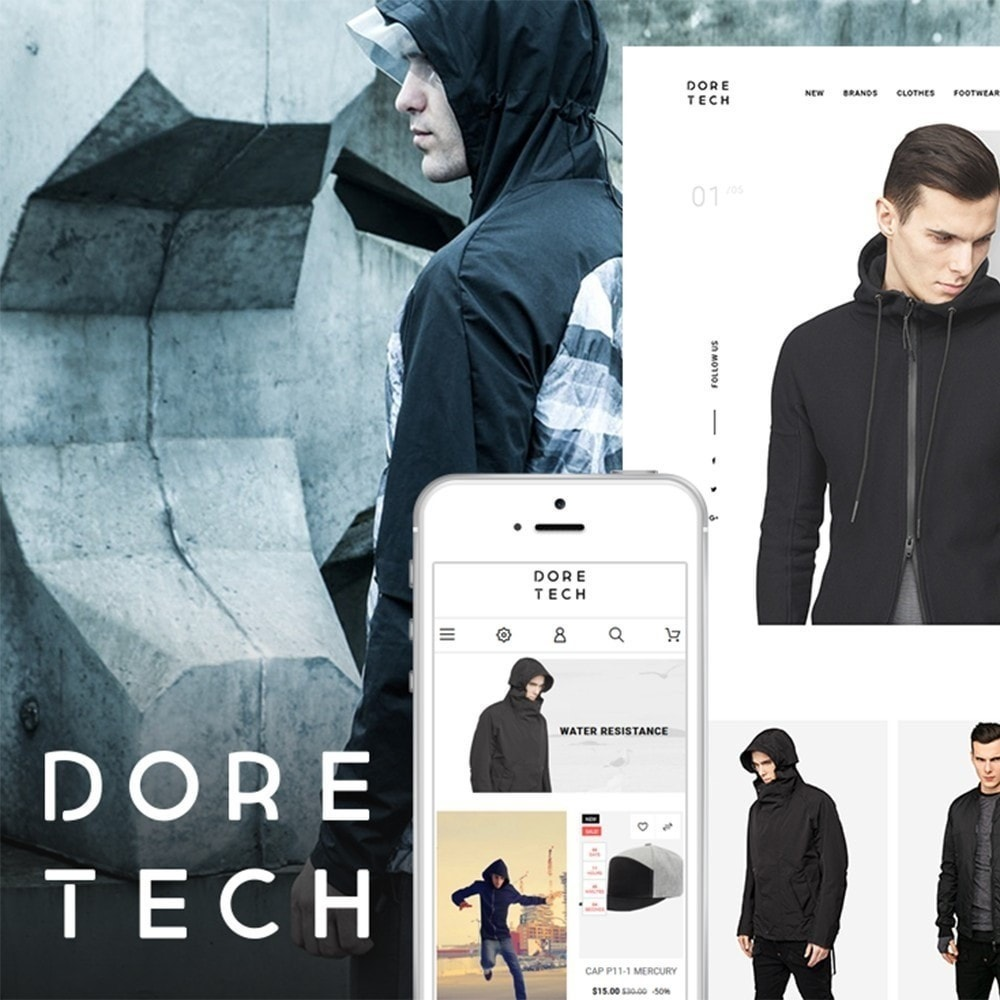theme - Moda & Calzature - Dore Tech 1.7 - 1