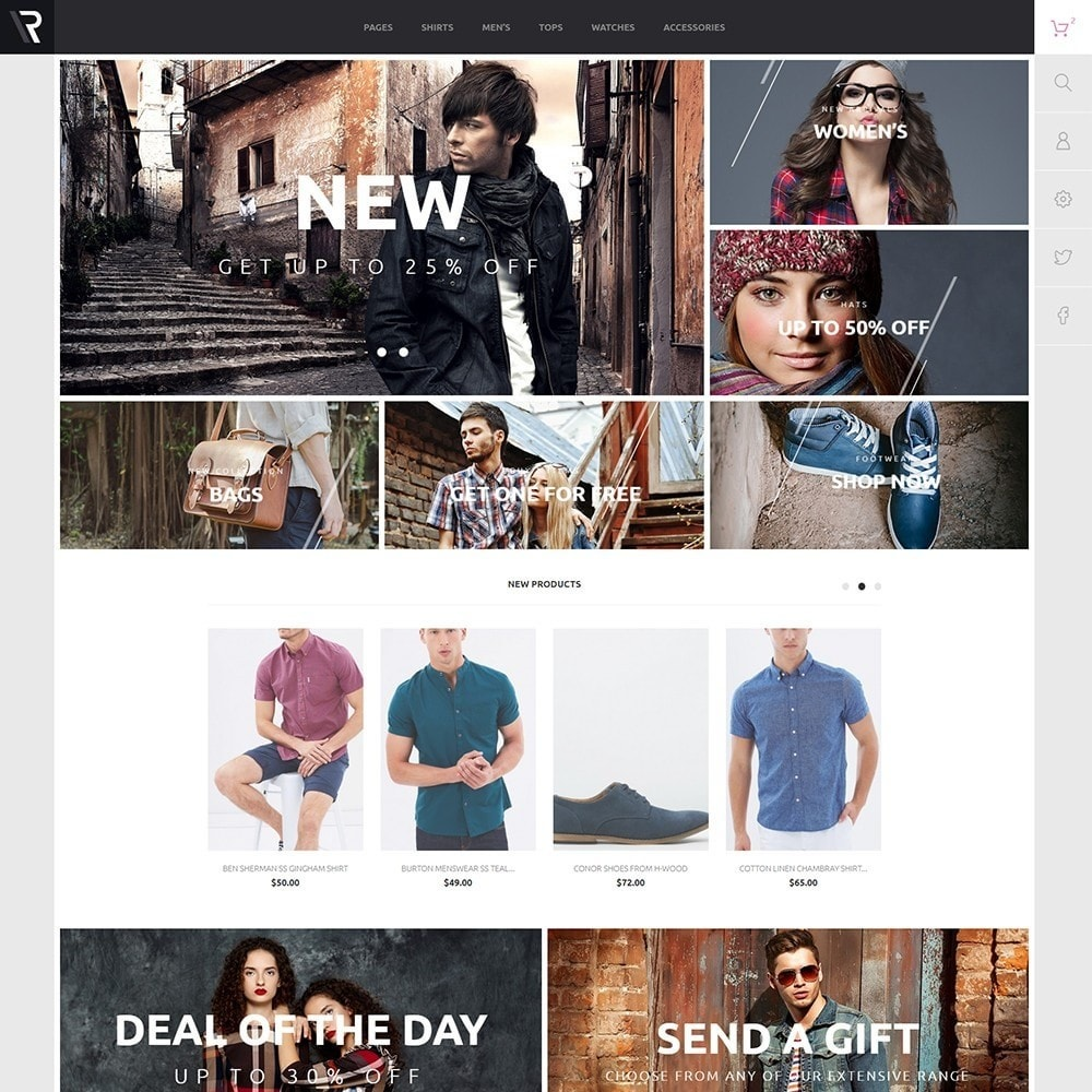 theme - Moda & Calzature - Appario - 2
