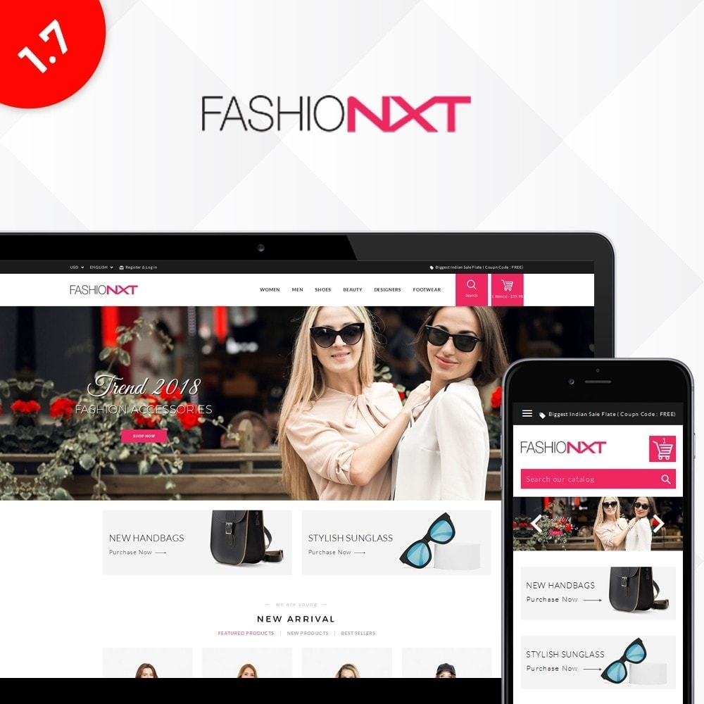 theme - Mode & Schuhe - Fashionxt Store - 1