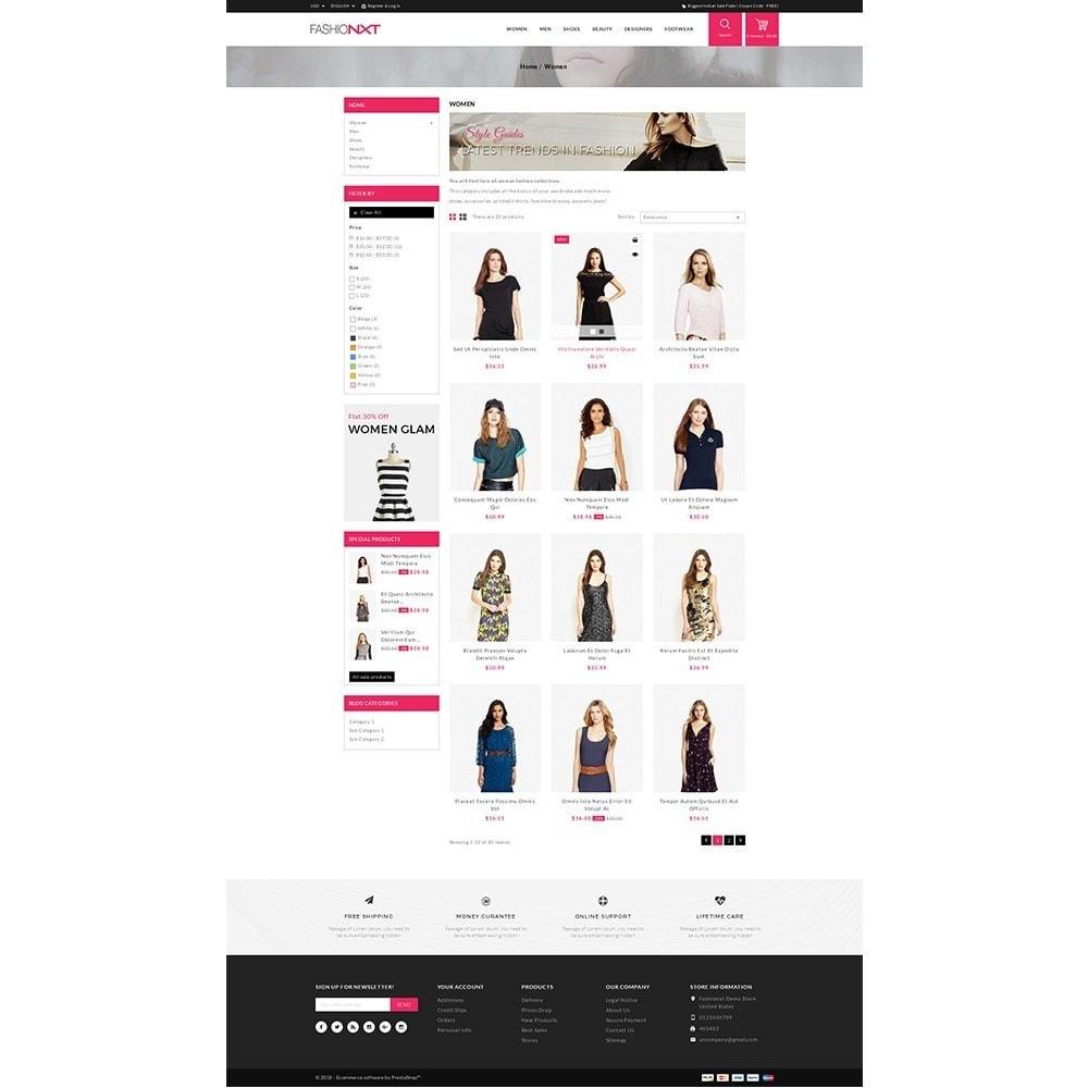 theme - Мода и обувь - Fashionxt Store - 3