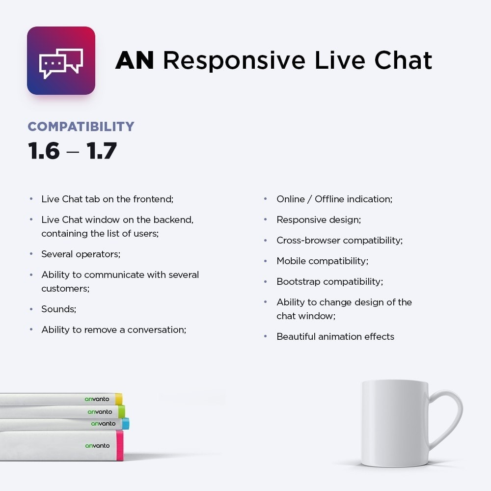 module - Support & Online Chat - AN Responsive Live Chat - 1