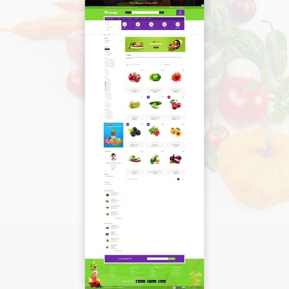 theme - Alimentation & Restauration - Orangic – Fresh Green Foods Super Store - 3
